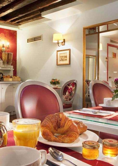 Hôtel Louvre Bons Enfants- café da manhã